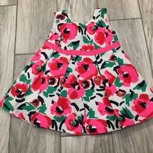 CP like new floral dress 12-18 months